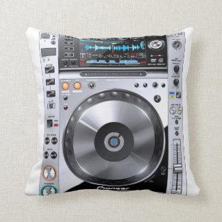 DJ Sleep Throw Pillow