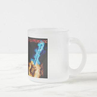DJ SlypeNSlyde 10 Oz Frosted Glass Coffee Mug