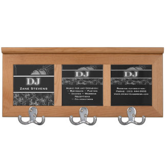 DJ Soundboard Microphone Coat Rack