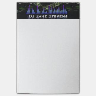DJ Speakers, Music Staff, Notes Sound Bar