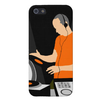 DJ Spinning Vinyl Case For The iPhone 5
