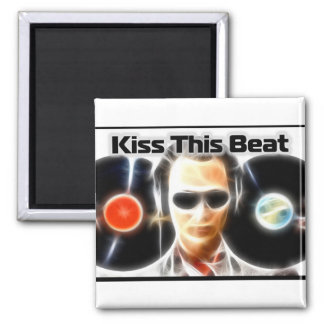 "DJ Stuff ""Kiss This Beat"" Magnet"