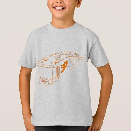 DJ Stylus - Disc Jockey Turntable Deck Vinyl T-Shirt
