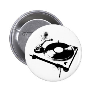DJ Turntable 2 Inch Round Button