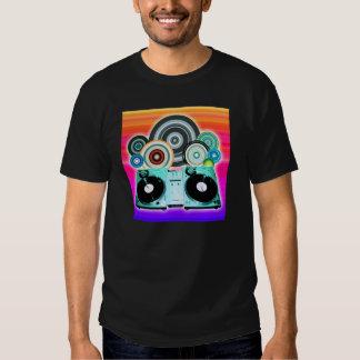 DJ Turntable Circles Shirt