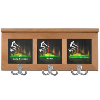 DJ Turntable Coat Rack