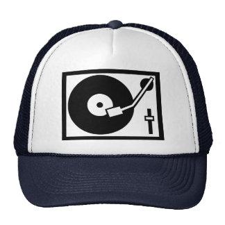DJ - Turntable Hat