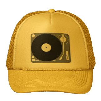 dj turntable trucker hats