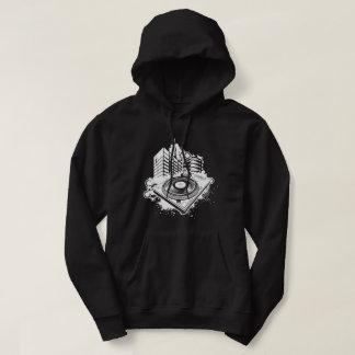 DJ Turntable Hooded Sweatshirt