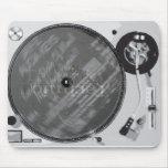 DJ Turntable Mousepads