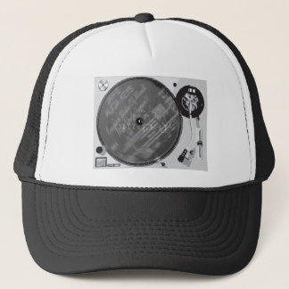 DJ Turntable Trucker Hat