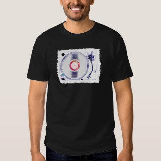 DJ Turntable(WHITE) Shirts