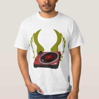 DJ Turntable Wings T-Shirt
