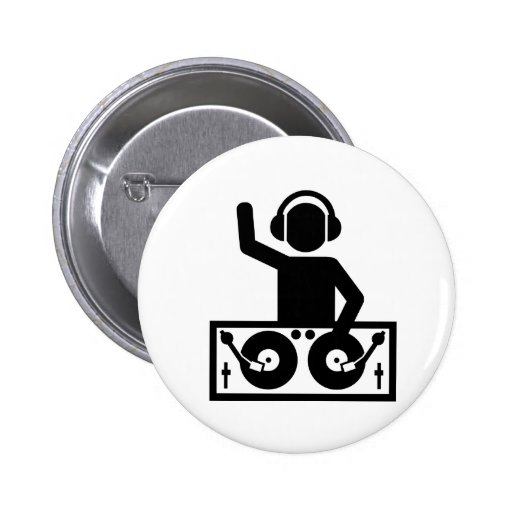 DJ Turntables Buttons