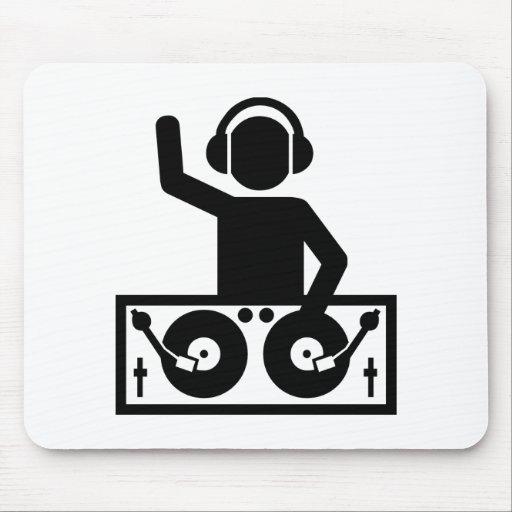 DJ Turntables Mousepad