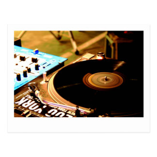 DJ Vinyl 1 Postcard