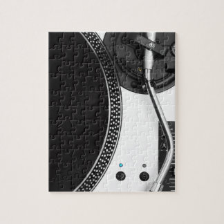 dj vinyl turntable close up design jigsaw puzzle