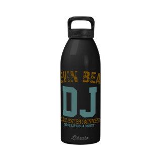 dj reusable water bottles