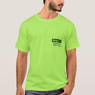 Django Nutrition Facts for DjangoCon T-Shirt