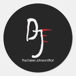 DJE Logo Sticker (6 pack)