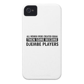 Djembe players music designs iPhone 4 cover
