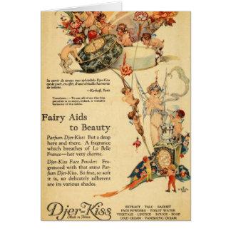 Djer Fairy Aid French Perfume Card