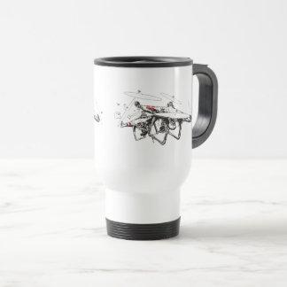 DJI Phantom Crash Travel Mug