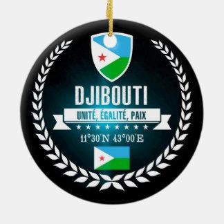 Djibouti Ceramic Ornament