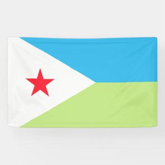 Djibouti Flag Banner