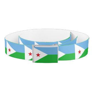 Djibouti Flag Belt