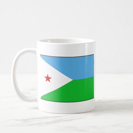 Djibouti Flag ~ Map Mug