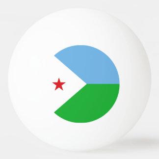 Djibouti Flag Ping Pong Ball