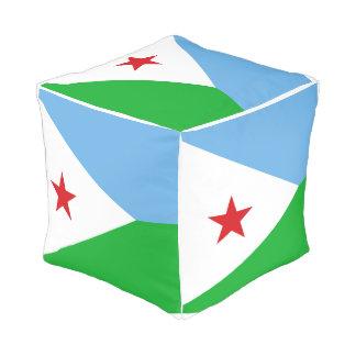 Djibouti Flag Pouf