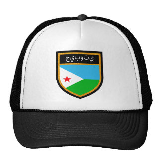 Djibouti  Flag Trucker Hat