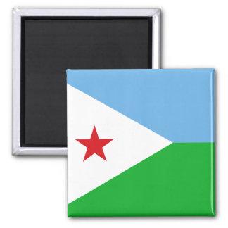Djibouti National World Flag Magnet