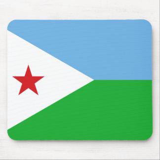 Djibouti National World Flag Mouse Pad