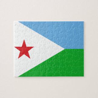 Djibouti National World Flag Puzzles