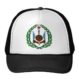 Djibouti Official Coat Of Arms Heraldry Symbol Trucker Hat