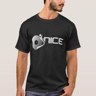 djjnice-logo-white T-Shirt