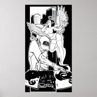 DJ's: Musicians of the Heavens Print