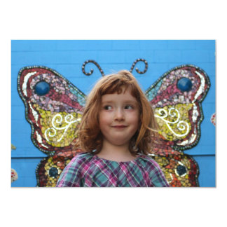 Djuna Butterfly (flat card) Card