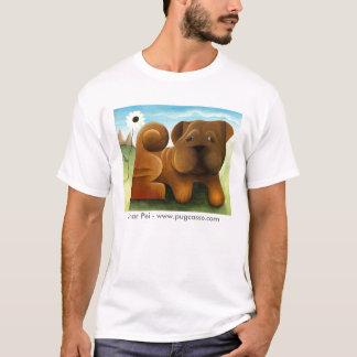dk_2009feb20c, Shar Pei - www.pugcasso.com T-Shirt