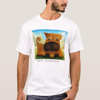 dk_2009july13a, Shar Pei - www.pugcasso.com T-Shirt