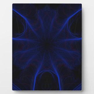 Dk. Blue laser Plaque