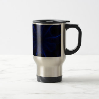 Dk. Blue laser Travel Mug