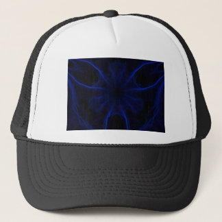 Dk. Blue laser Trucker Hat