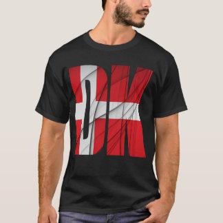 DK - Denmark Flag T-Shirt