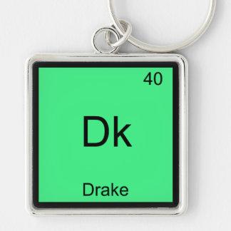 Dk - Drake Funny Chemistry Element Symbol T-Shirt Keychain