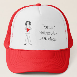 dkpwheart, dkpwheartcolor, Pastors' Wives Are A... Trucker Hat