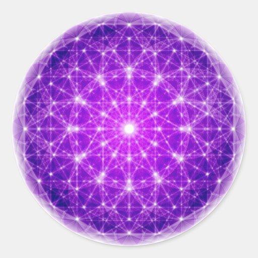 D'Light Full Mandala Round Stickers